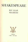 Rei Lear e Macbeth