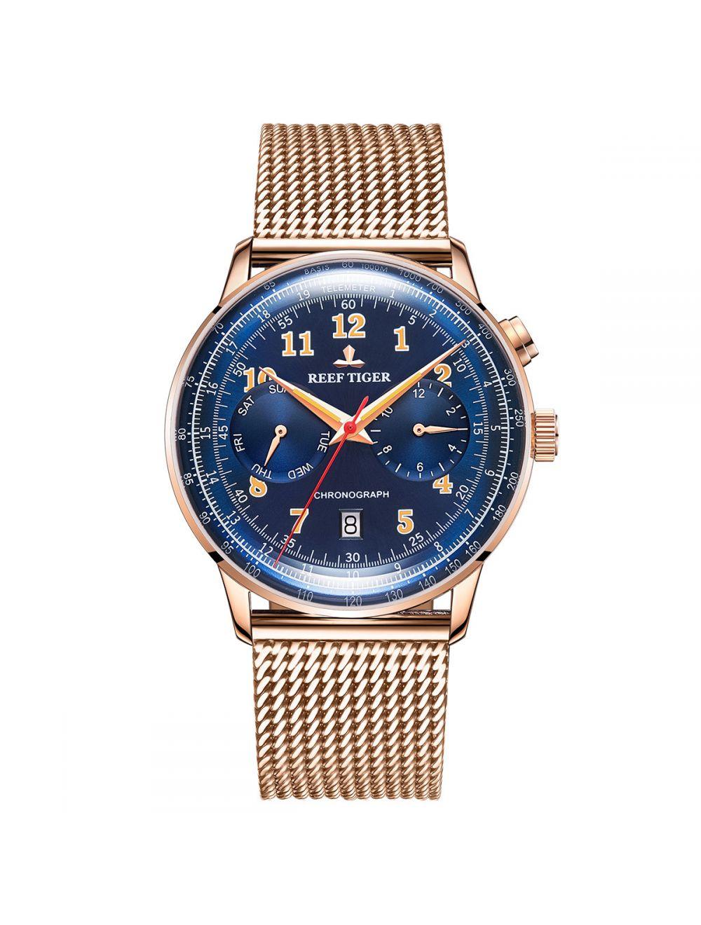 orologi da uomo in oro rosa